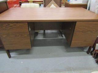laminated 5 Drawer Desk