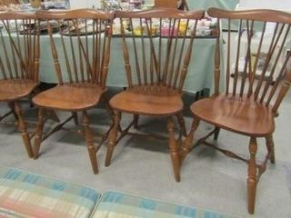 Spindle Back Colonial Style Chairs