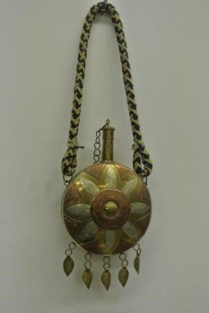 Moroccan Gunpowder Flask