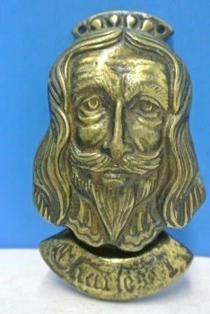 Charles I Brass Door Knocker