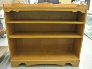 Colonial Style Wooden Book Case