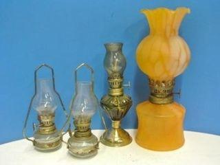 Miniature Oil lamp Assortment
