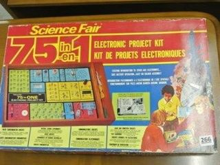 Science Fair 75 in 1 Electronic Projects Kit