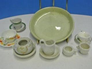 Very Tiny Miniature Cups   Saucers