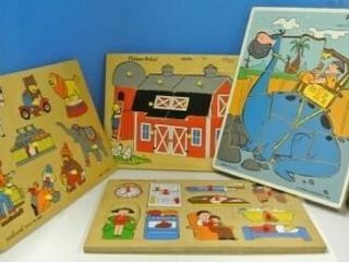 Children s Wooden Puzzles