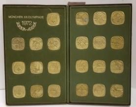 1972 Munich Olympics Coin Collection