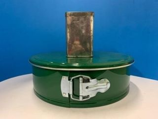 Vintage Metal Cheesecake Tin