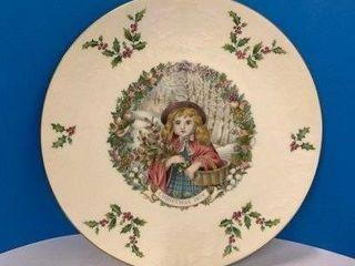 Royal Doulton Christmas 1978 Plate