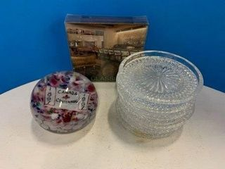 Assorted Coasters   Paperweight