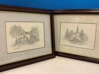 Framed   Matted Historic Brantford Sites