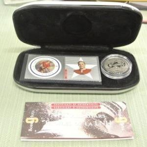 2001 NHl All Stars Stamp   Medallion Set