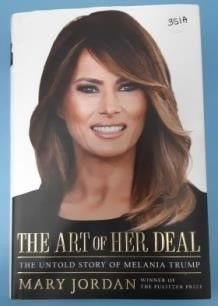 New Melania Trump Harcover Book