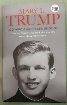 New Donald Trump Hardcover Book