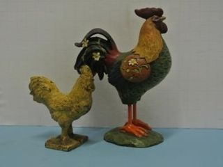 Rooster Figurines