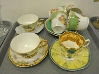 Ornate Cups   Saucers