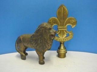 Cast Iron lion Money Bank