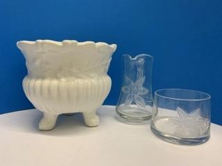Footed Plant Holder lot