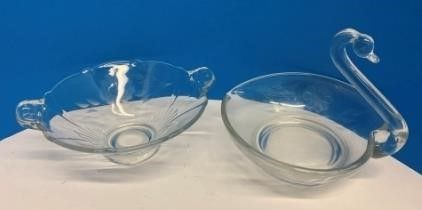10   12 Petal Cornflower Candy Dishes