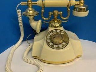 Ivory Retro Dial Phone