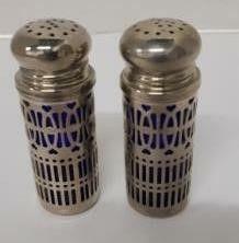 Vintage Godinger Salt   Pepper Shakers