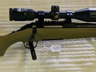 Ruger American 5 56 Rifle W Scope   Threaded Barre