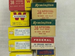 500 Rounds  38 Special Ammo