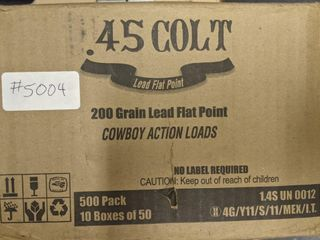 500 Round Case of 45 long Colt