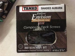 10 x 21 2  Composite Deck Screws