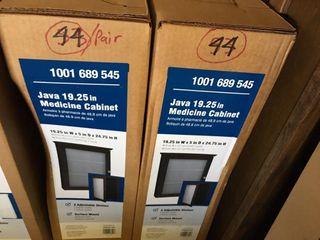 Pair of Medicine Cabinets Java