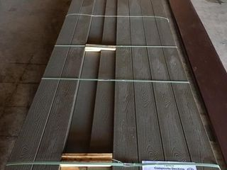 Tamco Composite Decking 6 x 16 ft Cape Cod Grey
