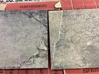 Serenissima Gravel Rock Italian 16x16 Tile