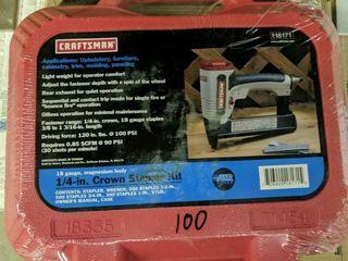 Craftsman 1 4 inch Crown stapler