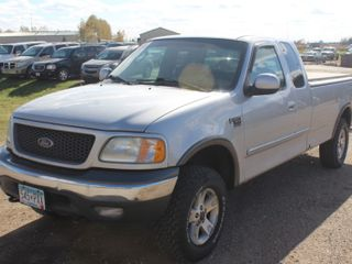 2002 Ford F150 4x4 Extended Cab - 1 Owner - 134,969 Miles -