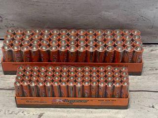 Fresh Lot of 60 AA & 60 AAA Batteries