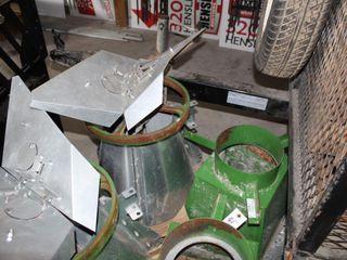 SUKUP SPREADWAY GRAIN BIN SPREADER WITH ELECTRIC MOTOR