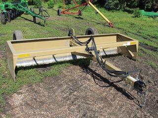 Land Pride PT Box Scraper, BB4512 12', Up/Down, Tilt, Like New, Bought New