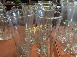 7 Beer Glasses