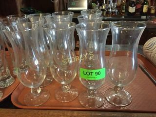 10 Cocktail Glasses