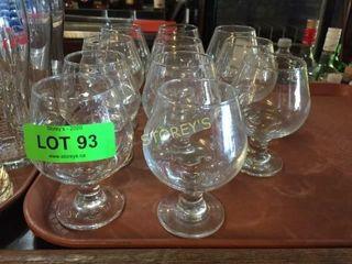 11 Sherry Glasses