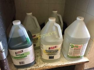 5 Jugs of Asst Cleaners