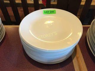 24 light Dinner Plates   10 5