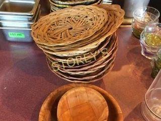 Baskets   Wood Bowls