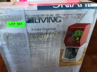 New 2 Cube living Organizer
