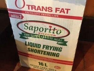 16l Jug of liquid Frying Shortening