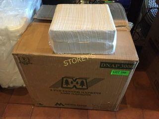 Box of 3000 Dinner Napkins