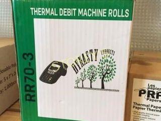 Box of Debit Machine Rolls
