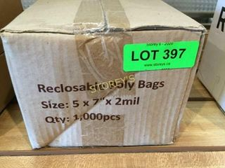 Box of Reclosable Poly Bags