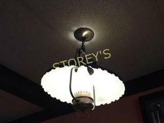 Hanging Black lantern light