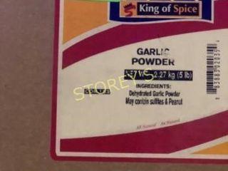 Box of Garlic Powder