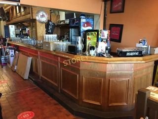 24  Solid Wood Bar